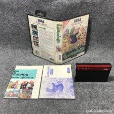 Videojuegos y Consolas: LEMMINGS SEGA MASTER SYSTEM. Lote 165565330
