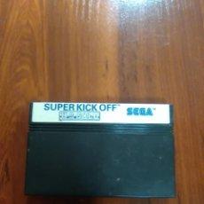 Videojuegos y Consolas: SUPER KICK OFF - SEGA MASTER SYSTEM - U.S. GOLD - CARTUCHO - FUTBOL. Lote 166660226