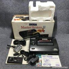 Videojuegos y Consolas: CONSOLA SEGA MASTER SYSTEM II ALEX KIDD CON CAJA E INSTRUCCIONES. Lote 167693722