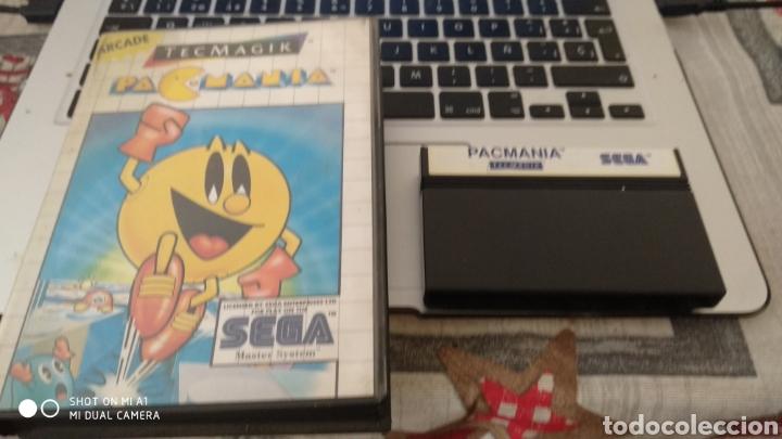 PACMANIA SIN MANUALES (Juguetes - Videojuegos y Consolas - Sega - Master System)