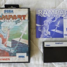 Videojuegos y Consolas: RAMPART MASTER SYSTEM. Lote 168940904
