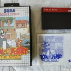 Videojuegos y Consolas: TOM AND JERRY THE MOVIE MASTER SYSTEM. Lote 168952232