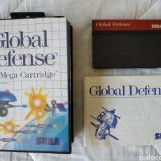 Videojuegos y Consolas: GLOBAL DEFENSE MASTER SYSTEM. Lote 168956010