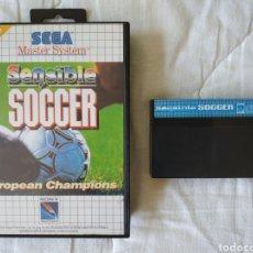Videojuegos y Consolas: SENSIBLE SOCCER MASTER SYSTEM. Lote 168960592