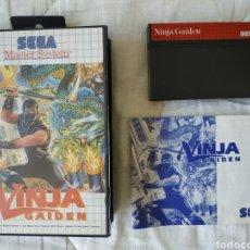 Videojuegos y Consolas: NINJA GAIDEN MASTER SYSTEM. Lote 168961676