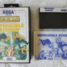 Videojuegos y Consolas: IMPOSSIBLE MISSION MASTER SYSTEM. Lote 168963062