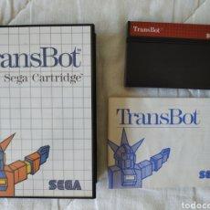 Videojuegos y Consolas: TRANSBOT MASTER SYSTEM. Lote 168963328