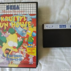 Videojuegos y Consolas: KRUSTY'S FUN HOUSE MASTER SYSTEM. Lote 168963768