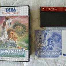 Videojuegos y Consolas: WIMBLEDON MASTER SYSTEM. Lote 168964025