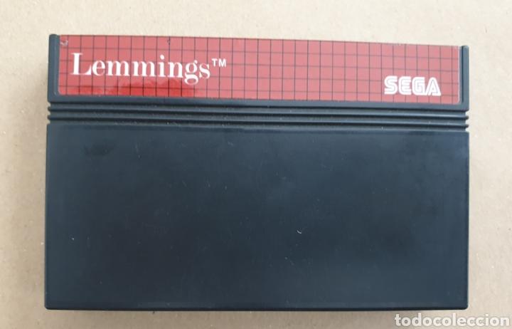LEMMINGS (Juguetes - Videojuegos y Consolas - Sega - Master System)