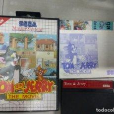 Videogiochi e Consoli: TOM AND JERRY THE MOVIE - SEGA MASTER SYSTEM - PAL - MS SMS. Lote 169092572