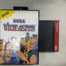 Videojuegos y Consolas: VIGILANTE - SEGA MASTER SYSTEM - PAL - MS SMS. Lote 169093248
