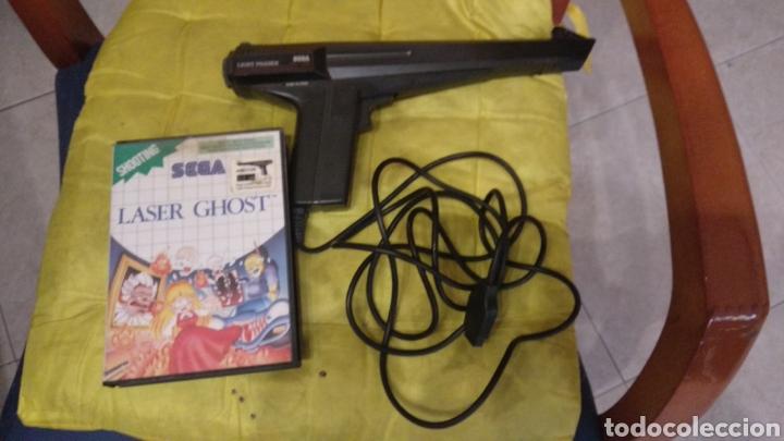 LASER GHOST CON LA PISTOLA (Juguetes - Videojuegos y Consolas - Sega - Master System)