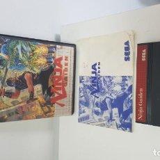 Videojuegos y Consolas: NINJA GAIDEN COMPLETO SEGA MASTER SYSTEM. Lote 170684385