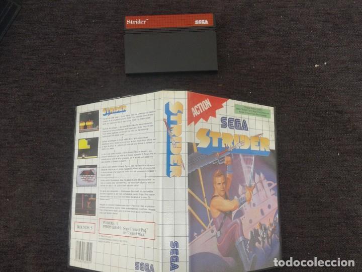 JUEGO STRIDER DE SEGA (Juguetes - Videojuegos y Consolas - Sega - Master System)