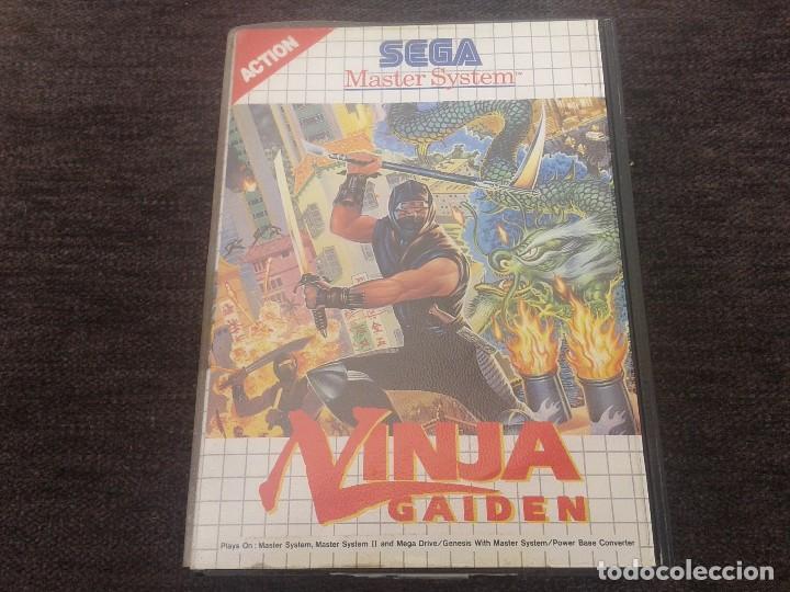 JUEGO NINJA GAIDEN DE SEGA (Juguetes - Videojuegos y Consolas - Sega - Master System)