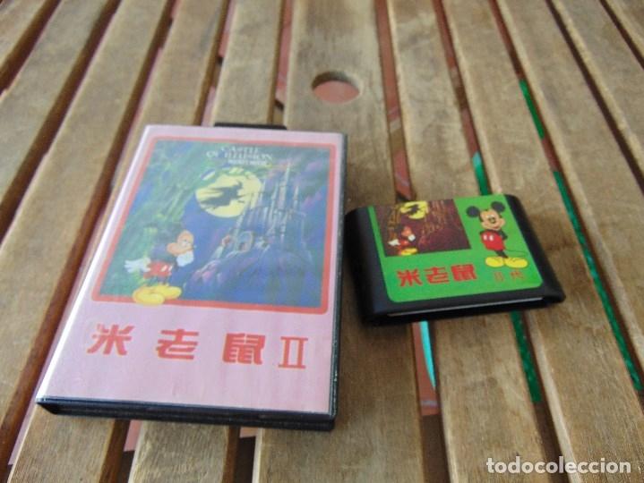 JUEGO DE LA SEGA MEGA DRIVE ?? EN SU CAJA NO ESTAN PROBADOS CASTLE MICKEY MAUSE (Juguetes - Videojuegos y Consolas - Sega - Master System)