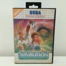 Videojuegos y Consolas: JUEGO WIMBLEDON SEGA MASTER SYSTEM. Lote 173851848