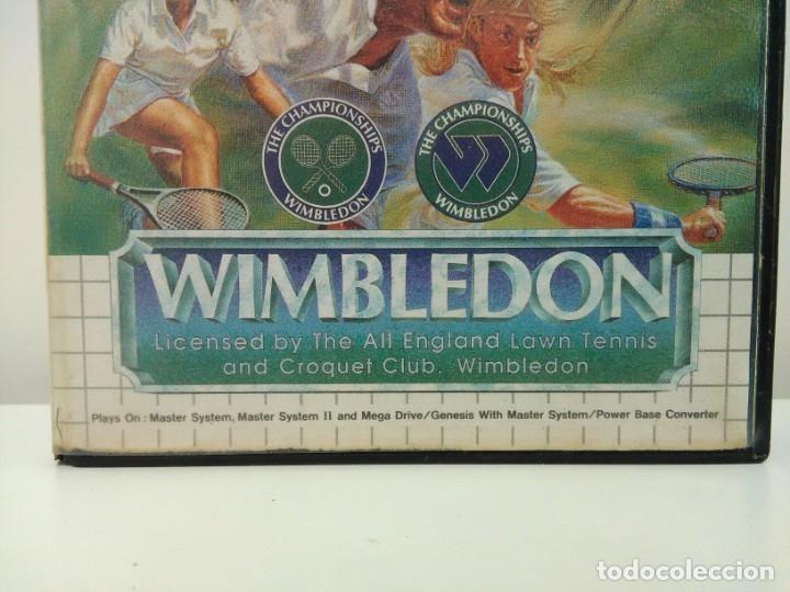 Videojuegos y Consolas: Juego Wimbledon Sega Master System - Foto 3 - 173851848
