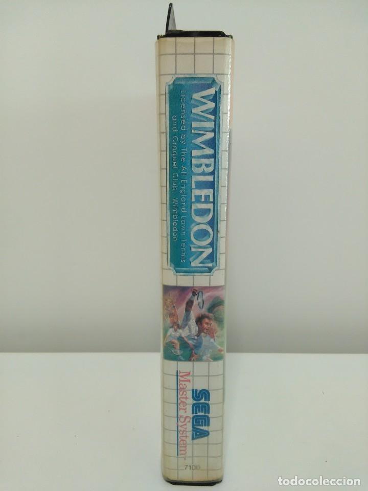 Videojuegos y Consolas: Juego Wimbledon Sega Master System - Foto 4 - 173851848