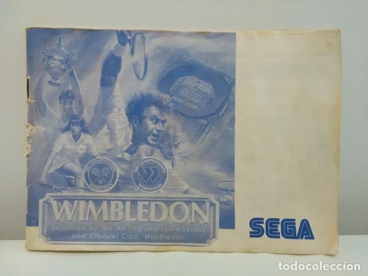 Videojuegos y Consolas: Juego Wimbledon Sega Master System - Foto 12 - 173851848