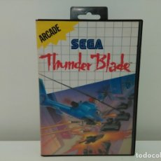 Videojuegos y Consolas: JUEGO THUNDER BLADE SEGA MARTER SYSTEM. Lote 173851948