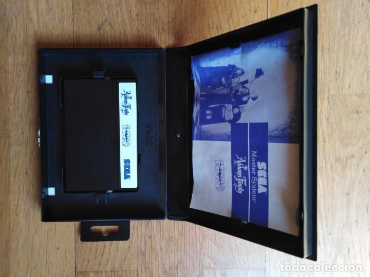 Videojuegos y Consolas: Juego Master system La Familia Addans - Foto 2 - 174047973