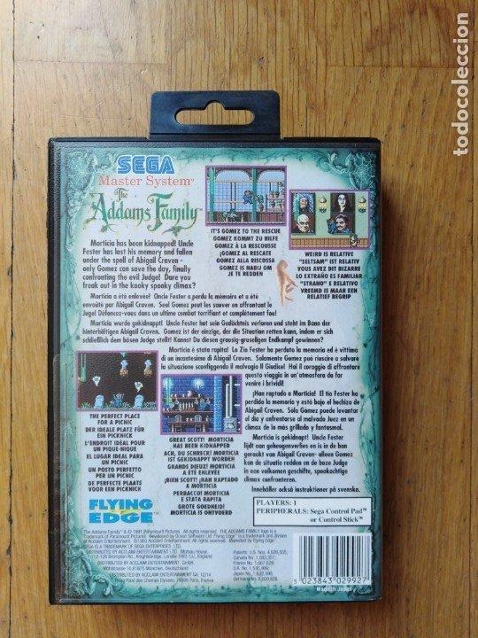 Videojuegos y Consolas: Juego Master system La Familia Addans - Foto 6 - 174047973