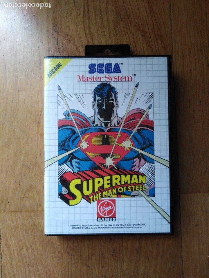 JUEGO MASTER SYSTEM SUPERMAN (Juguetes - Videojuegos y Consolas - Sega - Master System)