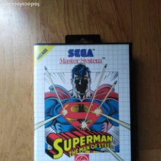 Videojuegos y Consolas: JUEGO MASTER SYSTEM SUPERMAN. Lote 174048013