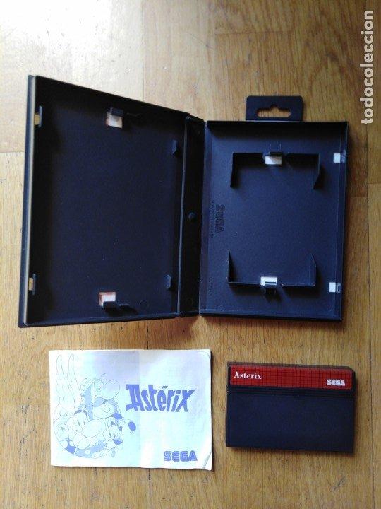 Videojuegos y Consolas: Juego Master system Asterix - Foto 4 - 174048053