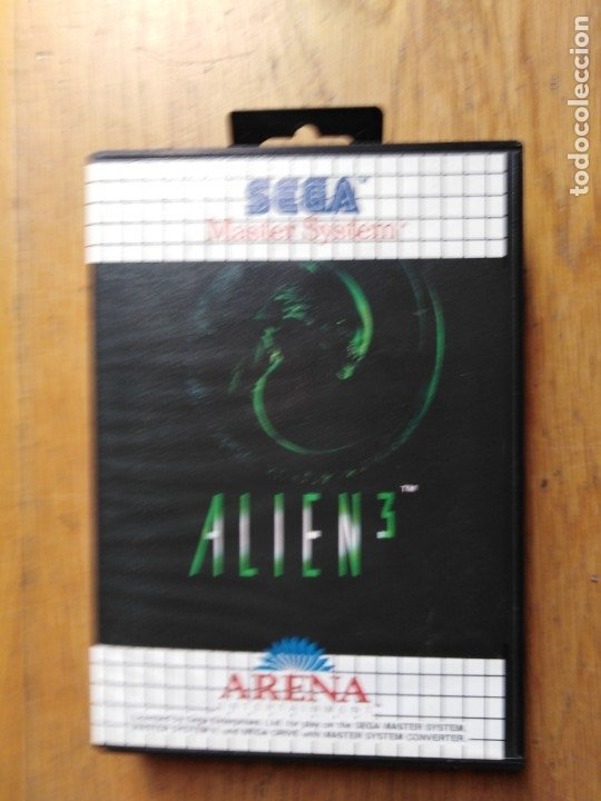 JUEGO MASTER SYSTEM ALIEN (Juguetes - Videojuegos y Consolas - Sega - Master System)