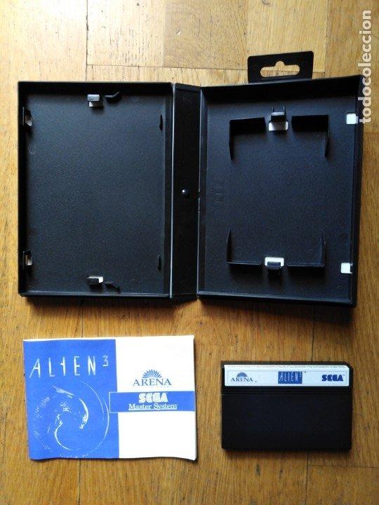 Videojuegos y Consolas: Juego Master system Alien - Foto 4 - 174048090