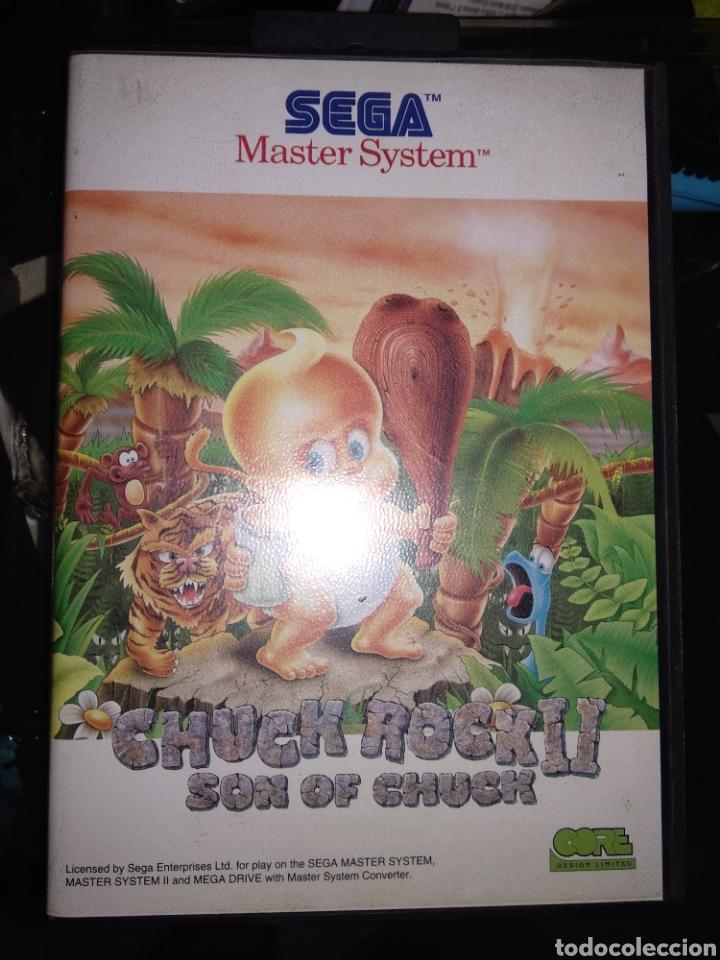 CHUCK ROCK II SON OF CHUCK (Juguetes - Videojuegos y Consolas - Sega - Master System)