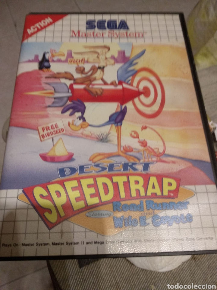 DESERT SPEEDTRAP (Juguetes - Videojuegos y Consolas - Sega - Master System)