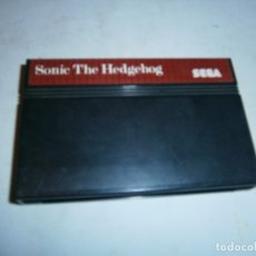 Videojuegos y Consolas: SONIC THE HEDGEHOG SEGA MASTER SYSTEM SOLO CARTUCHO. Lote 174528189