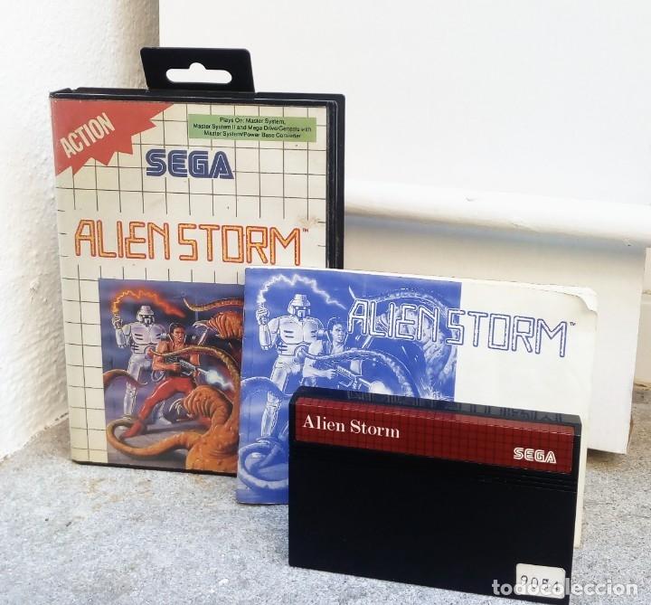 ALIEN STORM *** JUEGO SEGA AÑO 1991 (Juguetes - Videojuegos y Consolas - Sega - Master System)