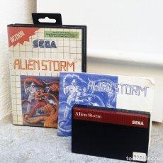 Videojuegos y Consolas: ALIEN STORM *** JUEGO SEGA AÑO 1991. Lote 174582840