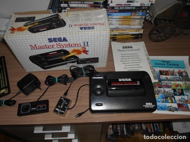 CONSOLA SEGA MASTER SYSTEM CON TODOS SUS CABLES Y 1 JUEGO EN MEMORIA PAL ESPAÑA (Juguetes - Videojuegos y Consolas - Sega - Master System)