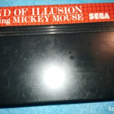 Videojuegos y Consolas: LAND OF ILLUSION - STARRING MICKEY MOUSE . Lote 177037064
