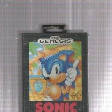 Videojuegos y Consolas: SONIC HEDGEHOG SEGA GENESIS. Lote 178928107