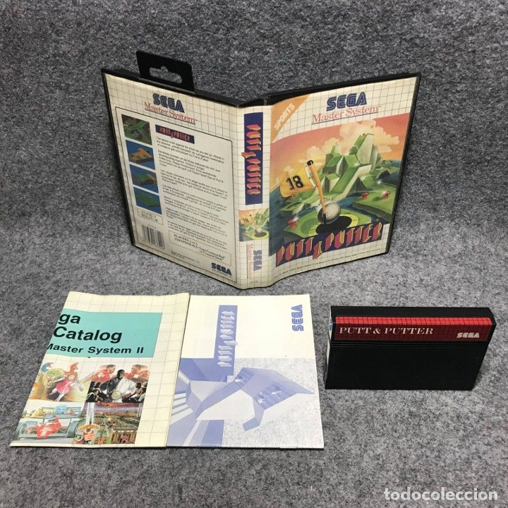 PUTT AND PUTTER SEGA MASTER SYSTEM (Juguetes - Videojuegos y Consolas - Sega - Master System)