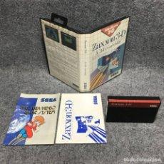 Videojuegos y Consolas: ZAXXON 3D SEGA MASTER SYSTEM. Lote 179124103