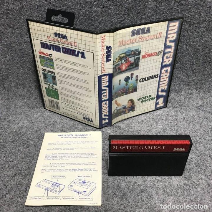 MASTER GAMES 1 SEGA MASTER SYSTEM (Juguetes - Videojuegos y Consolas - Sega - Master System)
