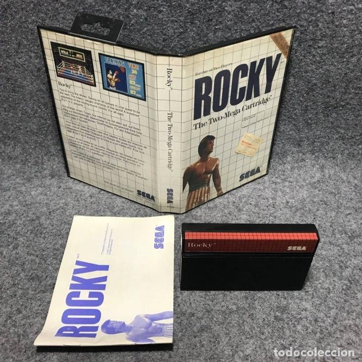 ROCKY SEGA MASTER SYSTEM (Juguetes - Videojuegos y Consolas - Sega - Master System)
