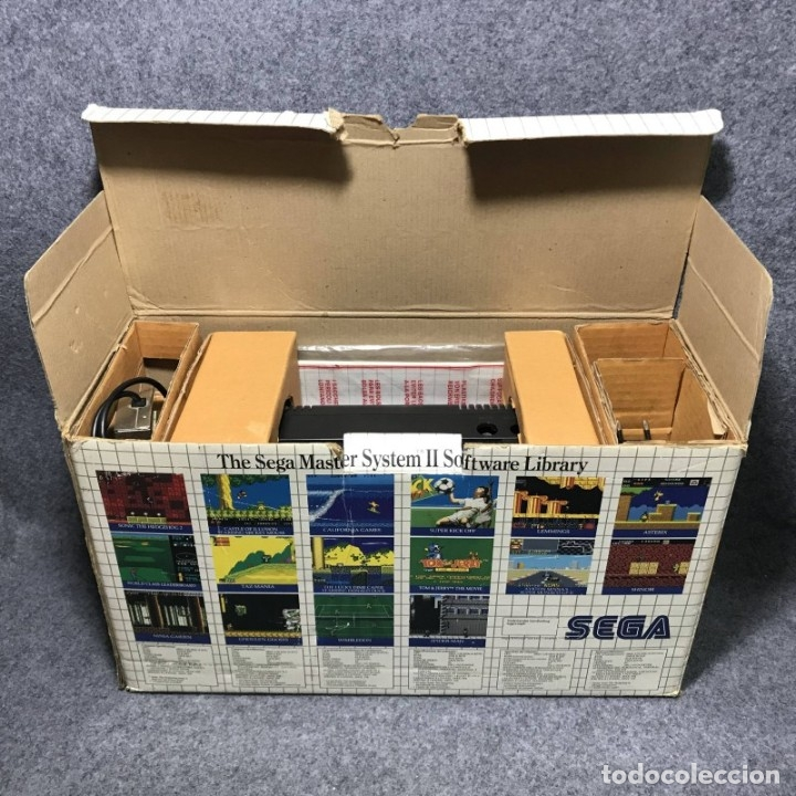 Videojuegos y Consolas: CONSOLA SEGA MASTER SYSTEM II+SONIC CON CAJA E INSTRUCCIONES - Foto 5 - 179124123