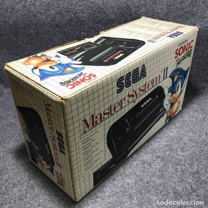 Videojuegos y Consolas: CONSOLA SEGA MASTER SYSTEM II+SONIC CON CAJA E INSTRUCCIONES - Foto 6 - 179124123
