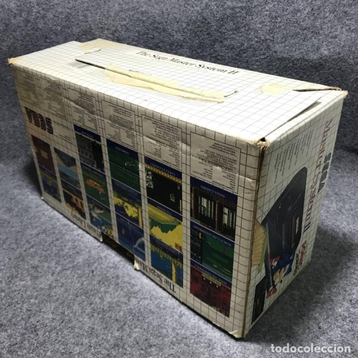 Videojuegos y Consolas: CONSOLA SEGA MASTER SYSTEM II+SONIC CON CAJA E INSTRUCCIONES - Foto 7 - 179124123
