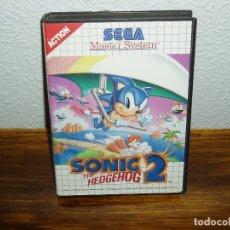 Videojuegos y Consolas: SONIC 2 SEGA MASTER SYSTEM. Lote 180933481