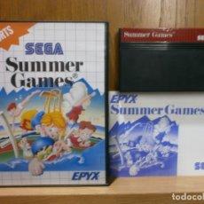 Videojuegos y Consolas: SEGA MASTER SYSTEM SUMMER GAMES. Lote 181987197